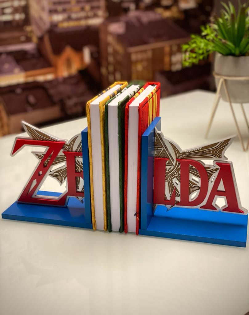 Aparador Porta Livro Logo The Legends Of Zelda