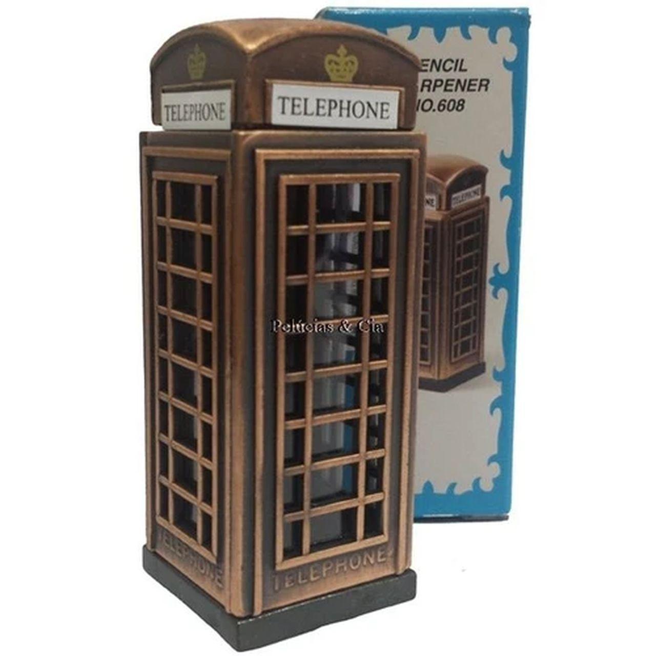 Apontador De Metal: Cabine Telefônica NO. 608
