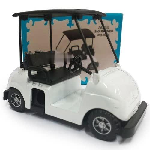 Apontador De Metal: Carrinho De Golf NO. 390A (Branco)