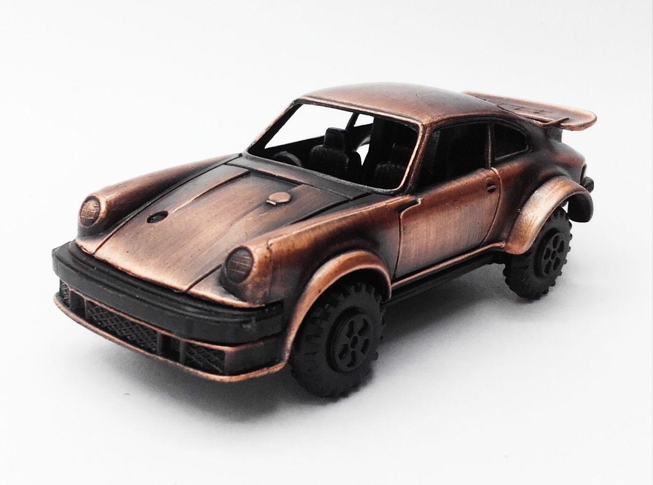 Apontador De Metal: Carro Porsche