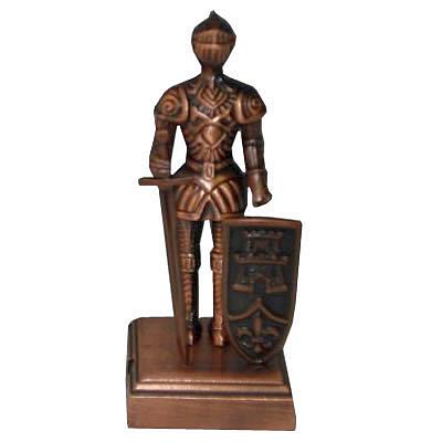 Apontador De Metal: Cavaleiro Escudo Torre NO. 9789