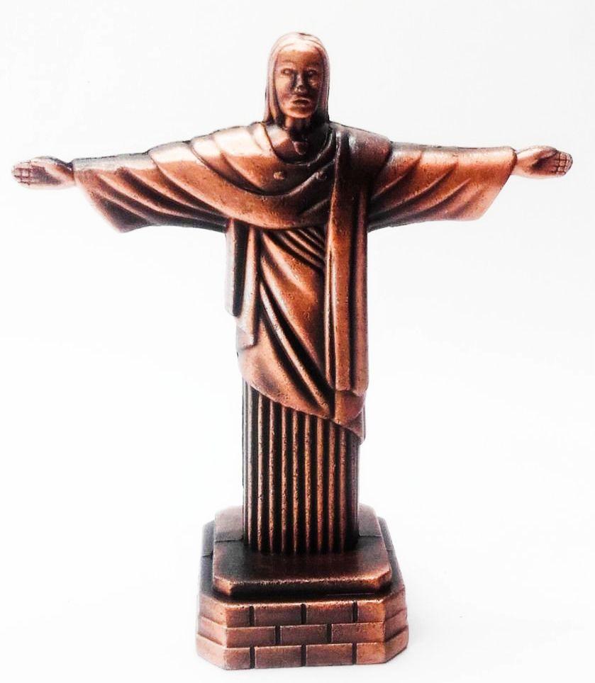 Apontador De Metal: Cristo Redentor NO. 614