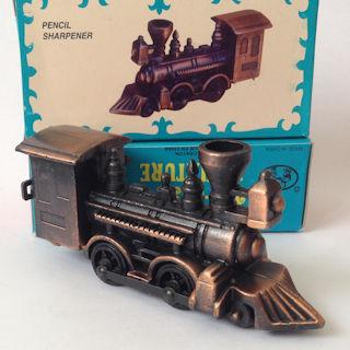 Apontador De Metal: Locomotiva A Vapor De Bronze NO. 119