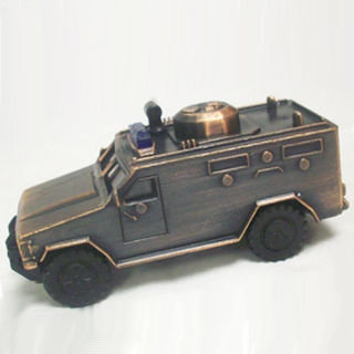 Apontador De Metal: Veículo Blindado Policial Swat De Bronze NO. 674