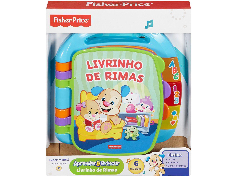 Aprender & Brincar: Livrinho de Rimas - Fisher-Price