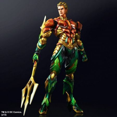 Aquaman Variant Square Enix - Play Arts Kai