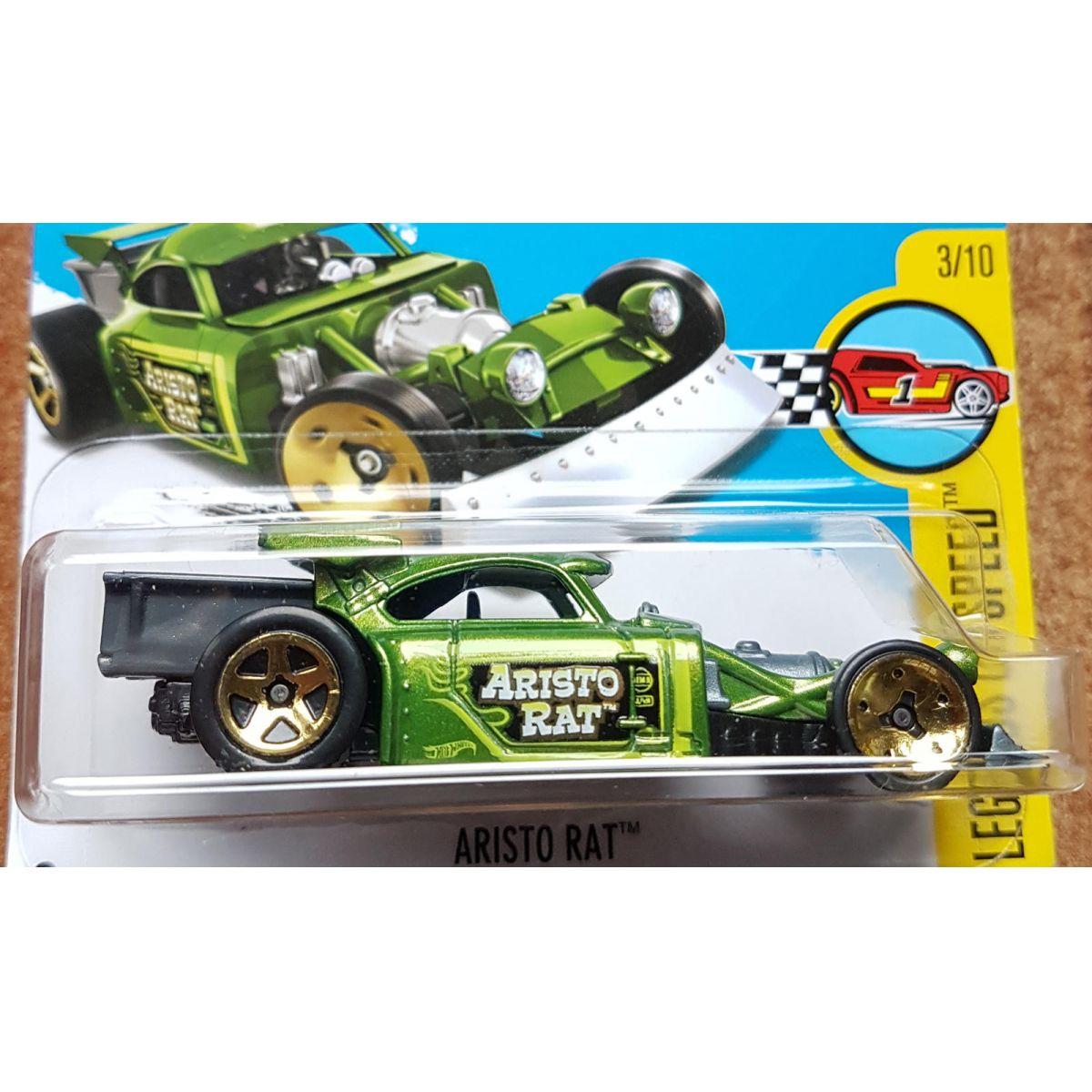 Aristo Rat Verde - Hot Wheels
