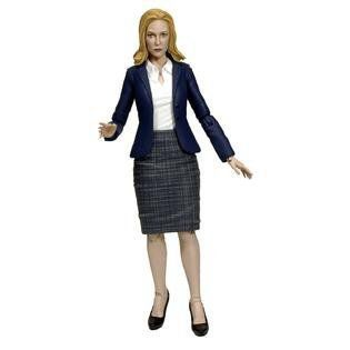 Boneco Agent Dana Scully: Arquivo X (The X-Files) 2016 Escala 1/10 - Diamond Select - CD