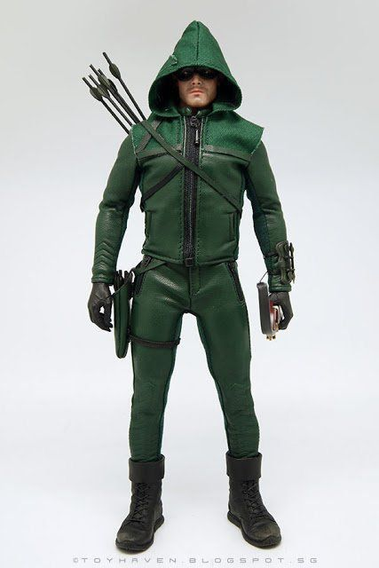 Boneco Arqueiro Verde: Arrow Escala 1/6 -ThreeQ
