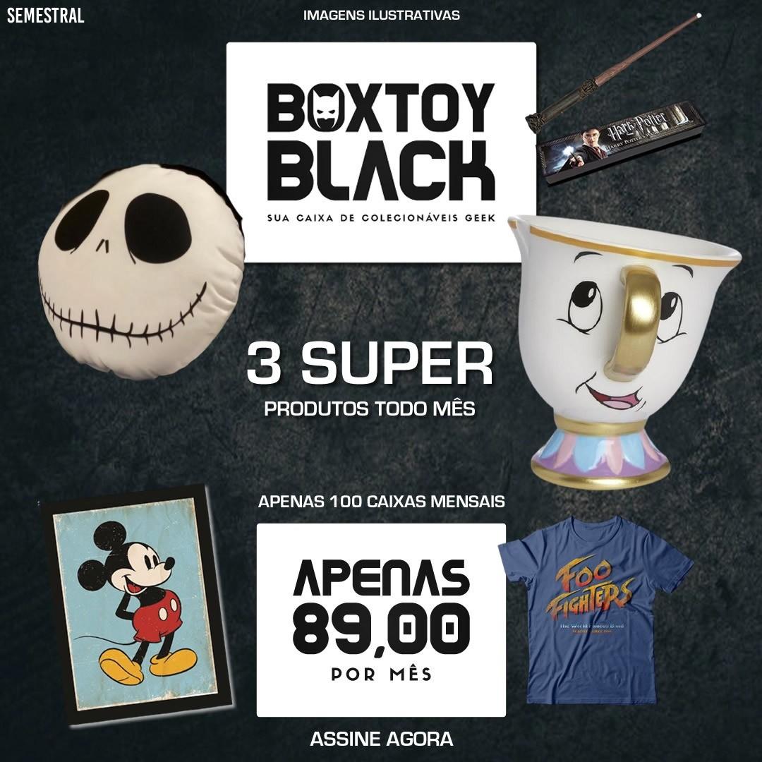 ASSINE AGORA BOXTOY: ESPECIAL BLACK FRIDAY - SEMESTRAL