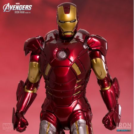 Avengers Iron Man Mark VII  1:10 Art Scale - Iron Studios