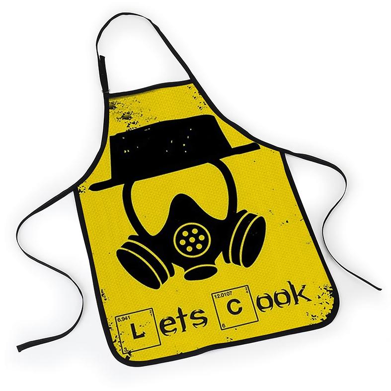 Avental Breaking Bad Walter White Vamos Cozinhar Let's Cook Netflix - EV