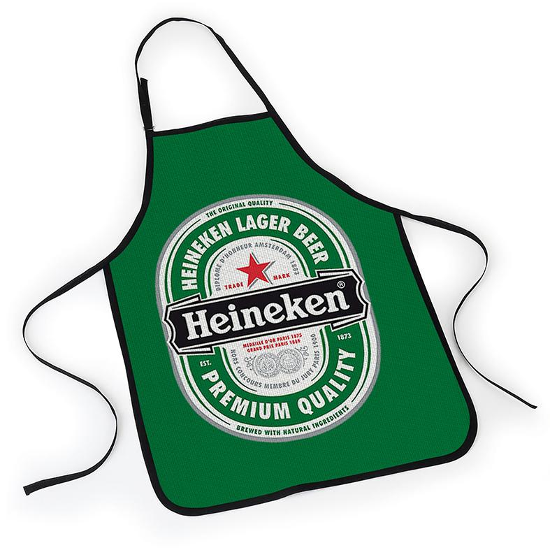 Avental Heineken Lager Beer Premium Quality Cerveja - EV