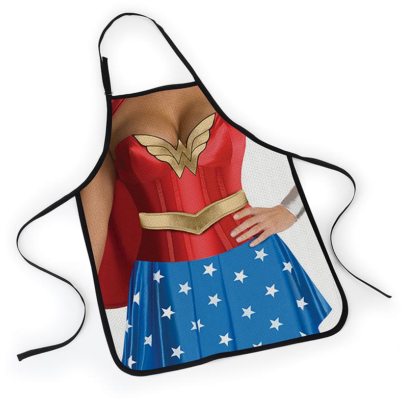Avental Mulher Maravilha Wonder Woman Sexy DC Comics - EV