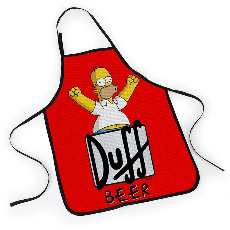 Avental Os Simpsons Cerveja Duff Beer Homer - EV