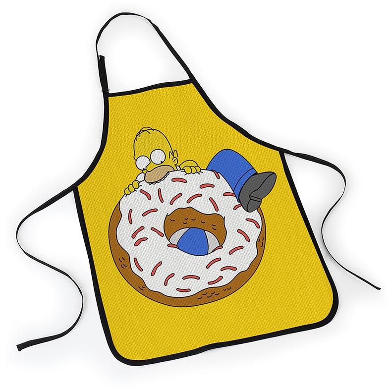 Avental Os Simpsons Homer Donuts - EV