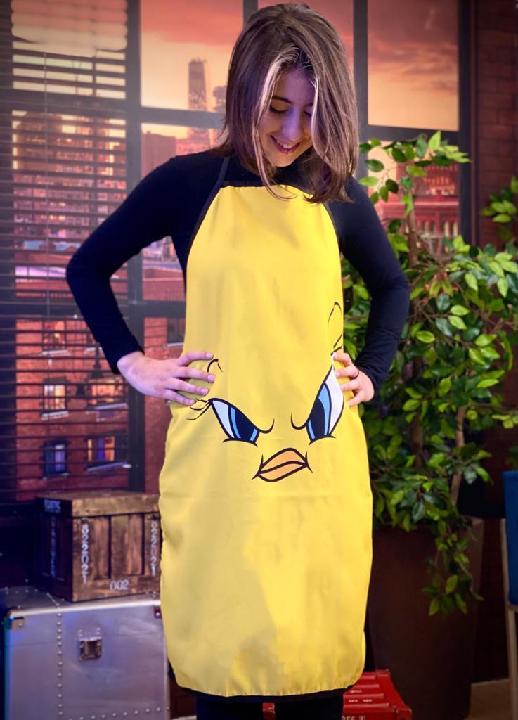 Avental Piu-Piu Tweety Bird: Looney Tunes: Looney Tunes - EV