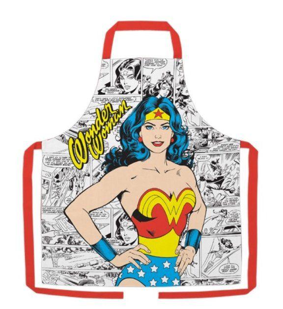 Avental Quadrinhos Mulher-Maravilha (Wonder Woman): DC Comics