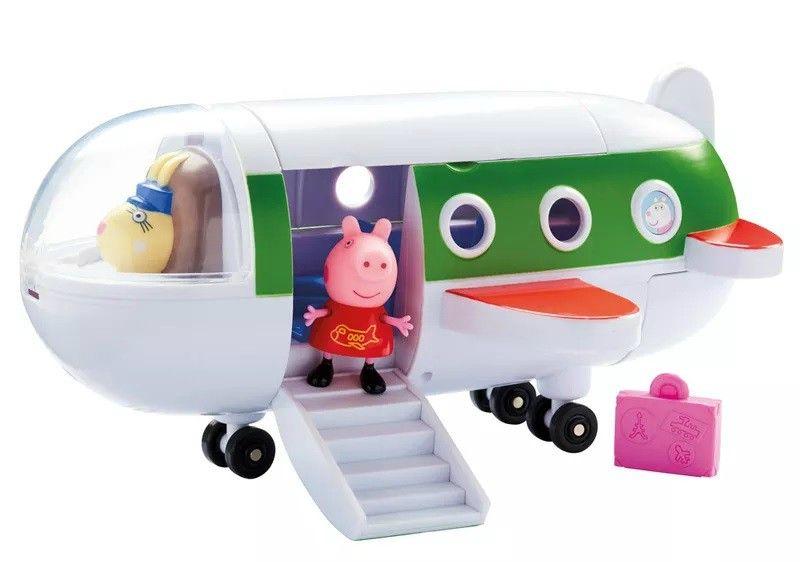Avião de Viagem: Peppa Pig - DTC