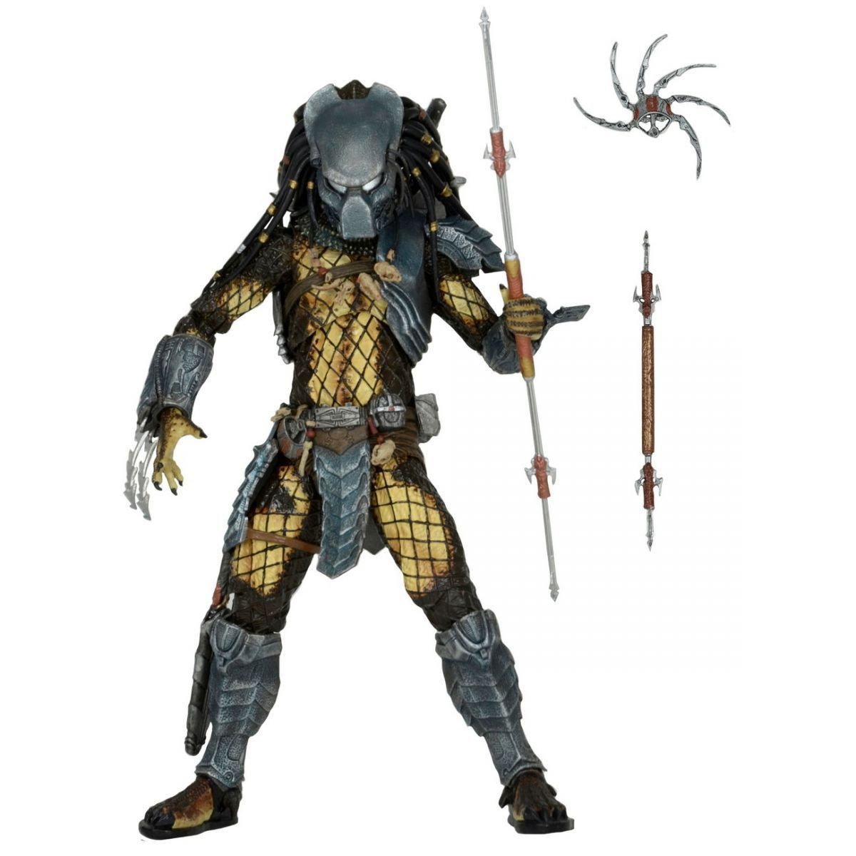 AvP (Alien vs Predador / Predator): Ancient Warrior Predador / Predator Series 15 Escala 1/10 - NECA