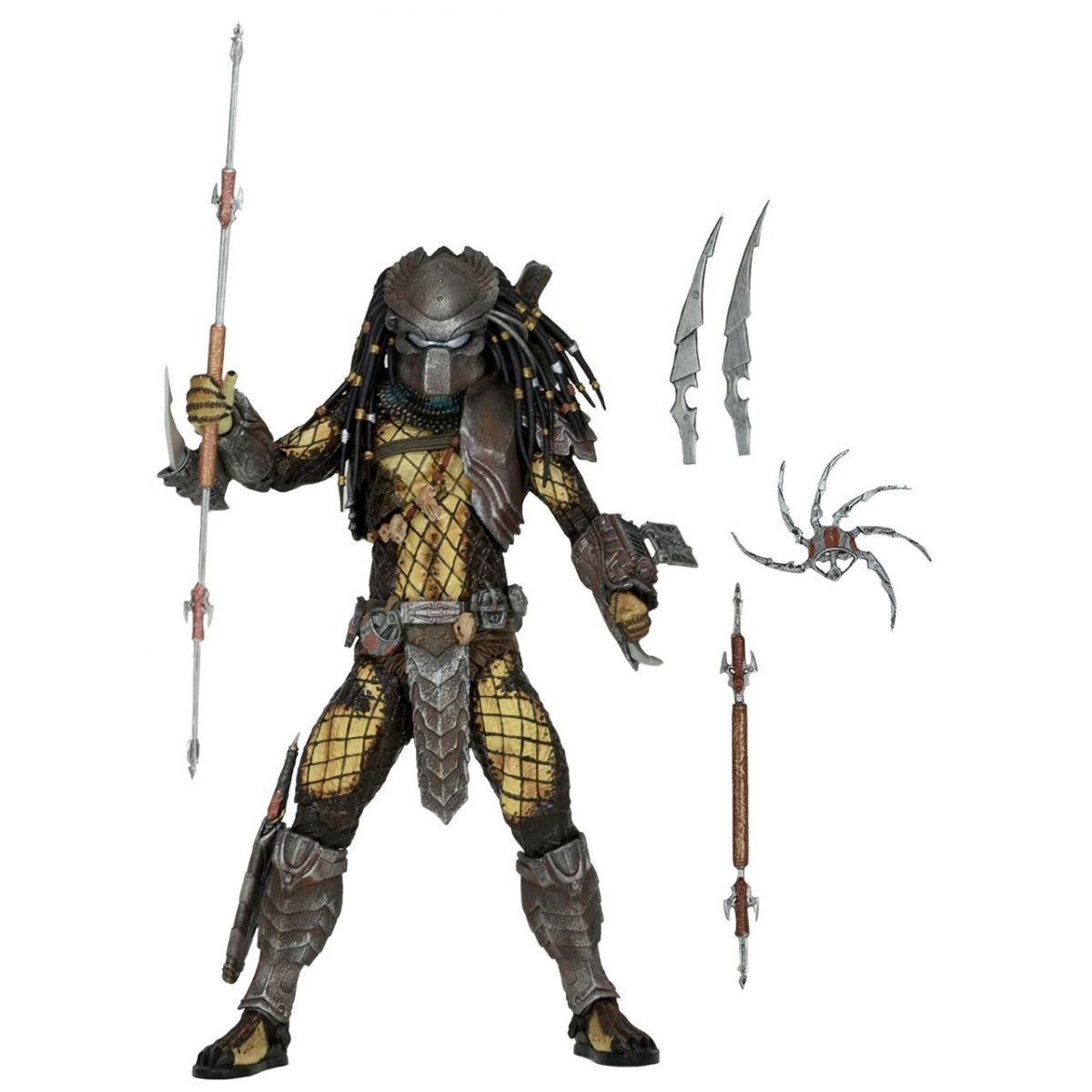 AvP (Alien vs Predador / Predator): Temple Guard Predador / Predator Series 15 Escala 1/10 - NECA