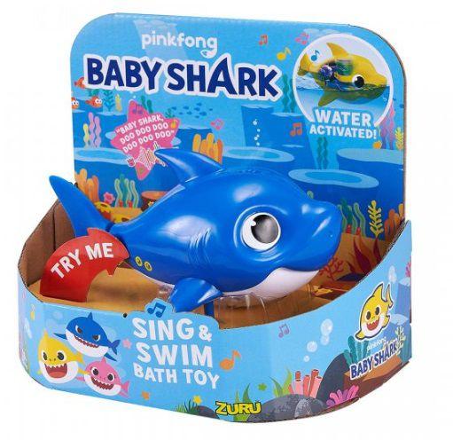Daddy Shark: Baby Shark Canta e Nada (Azul) Pinkfong - Candide