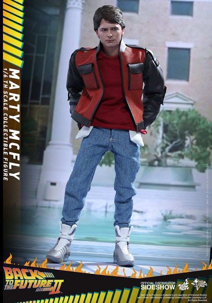 Boneco Marty Mcfly: De Volta para o Futuro II (Back to The Future II) Escala 1/6 - Hot Toys