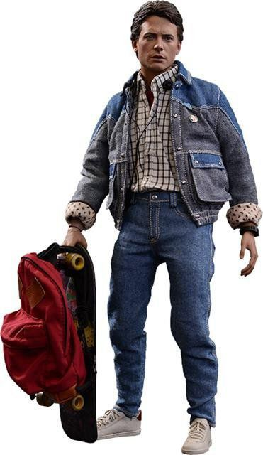 Boneco Marty Mcfly: De Volta Para o Futuro (Back to The Future) Escala 1/6 (MMS257) - Hot Toys
