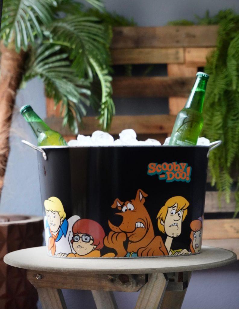 Balde de Gelo Metal Oval Scooby Doo - Metropole