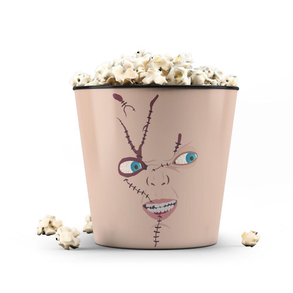 Balde de Pipoca Chucky: Brinquedo Assassino (Child's Play) - 3,5 Litros