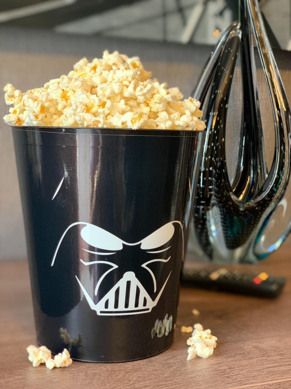 Balde de Pipoca Darth Vader: Star Wars (3,5 Litros)