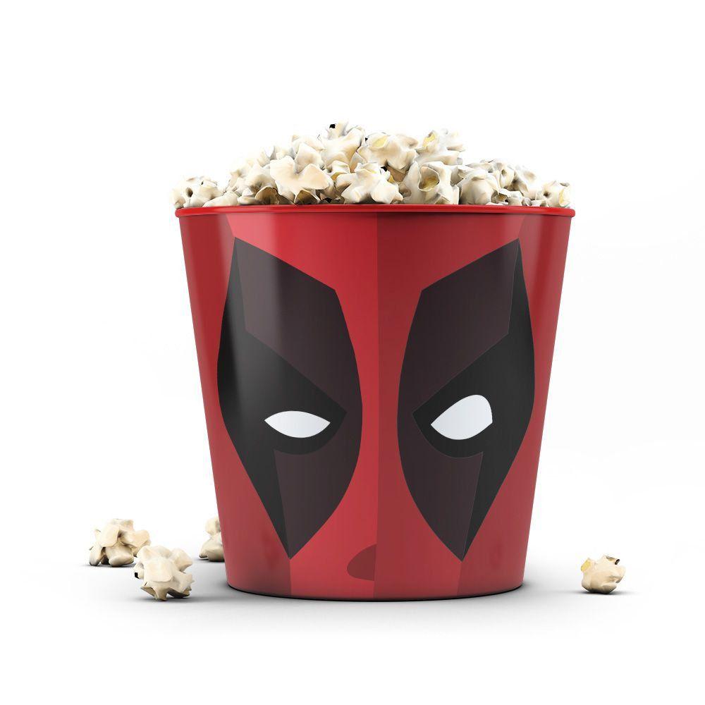 Balde de Pipoca Face Deadpool 3,5 Litros