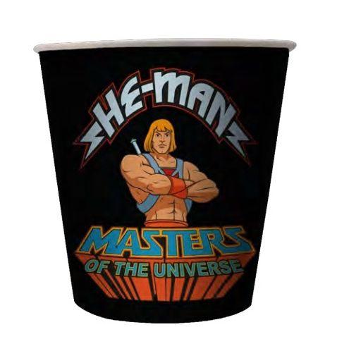 Balde de Pipoca He-Man e Esqueleto (He-Man and Skeletor): Mestres do Universo (Masters of the Universe)