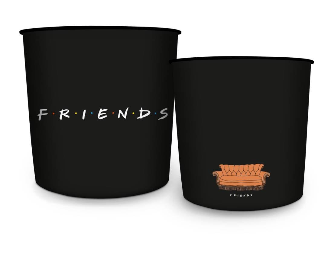 Balde de Pipoca Logo Friends (5 Litros) - Urban