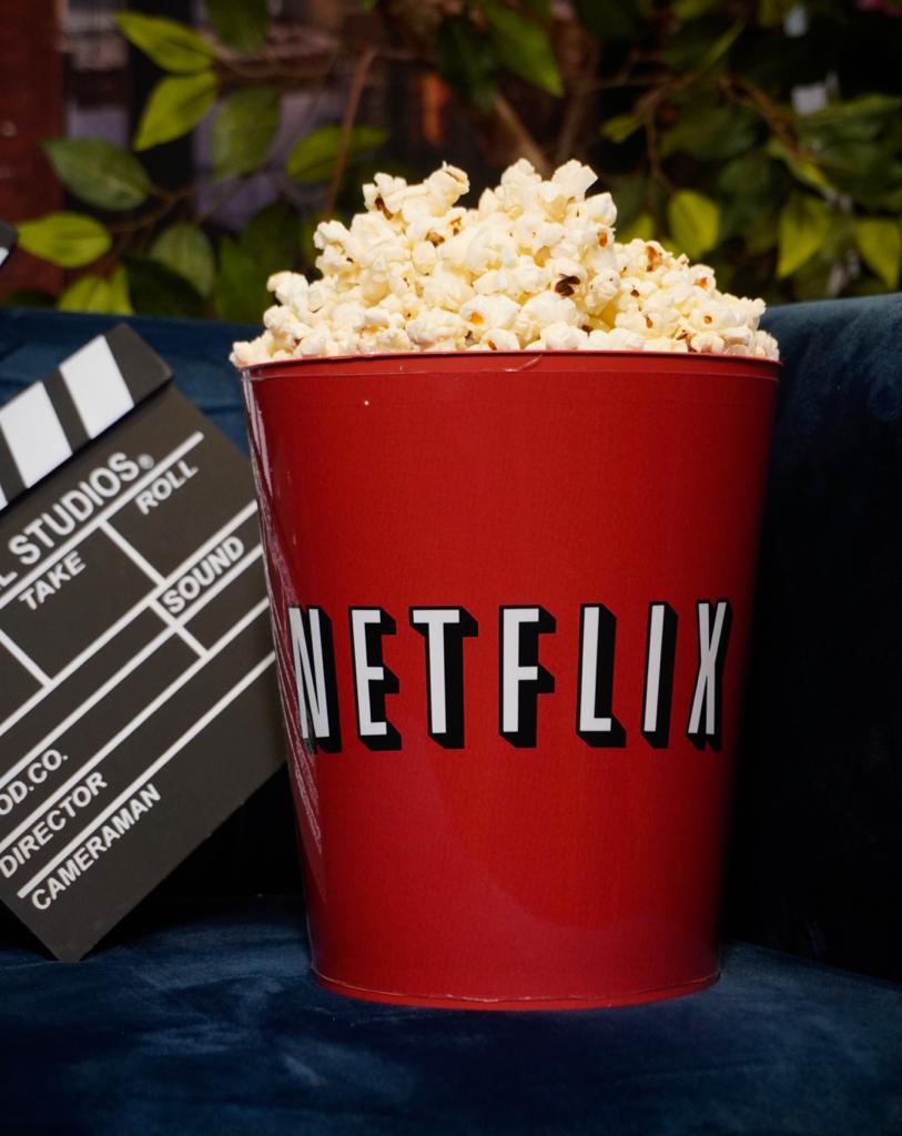 Balde de Pipoca: Netflix