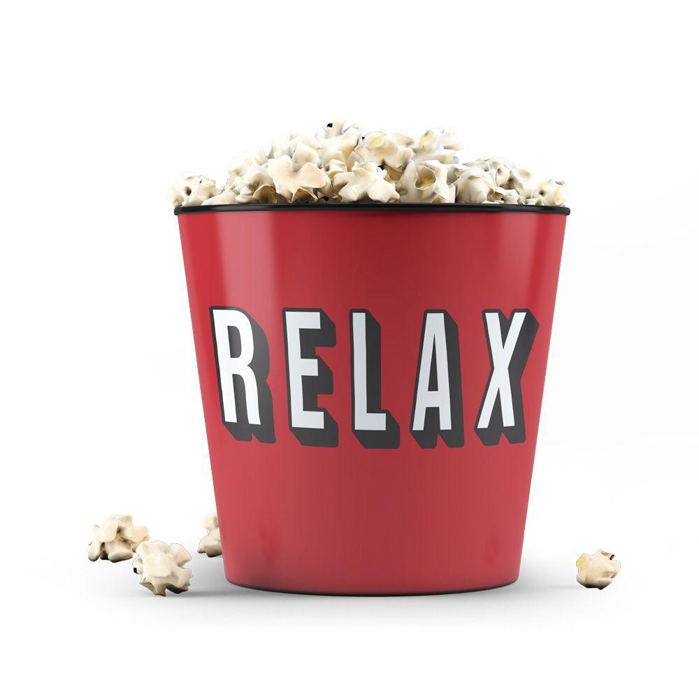 Balde de Pipoca: Relax
