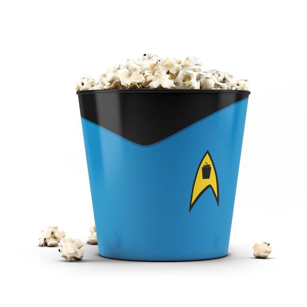 Balde de Pipoca Star Trek