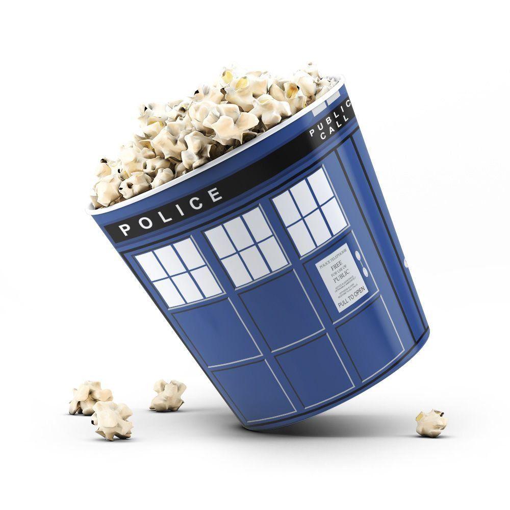 Balde de Pipoca Tardis (Doctor Who)