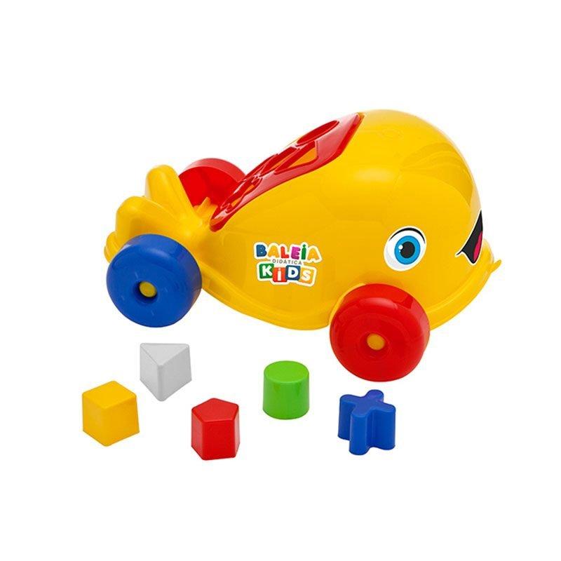 Baleia Didática Kids - Amarelo