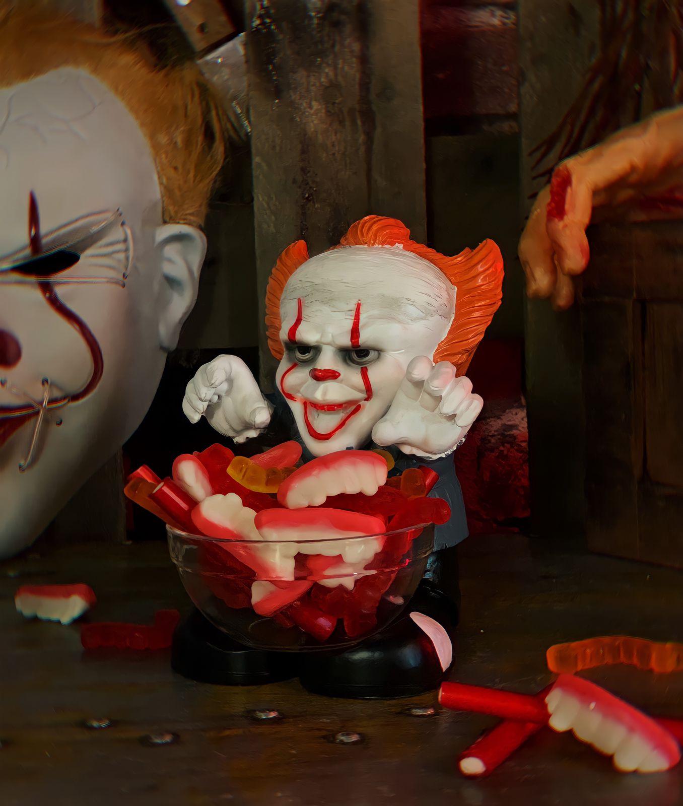 Baleiro Porta Balas Pennywise It A Coisa Decoração de Dias Das Bruxas Halloween