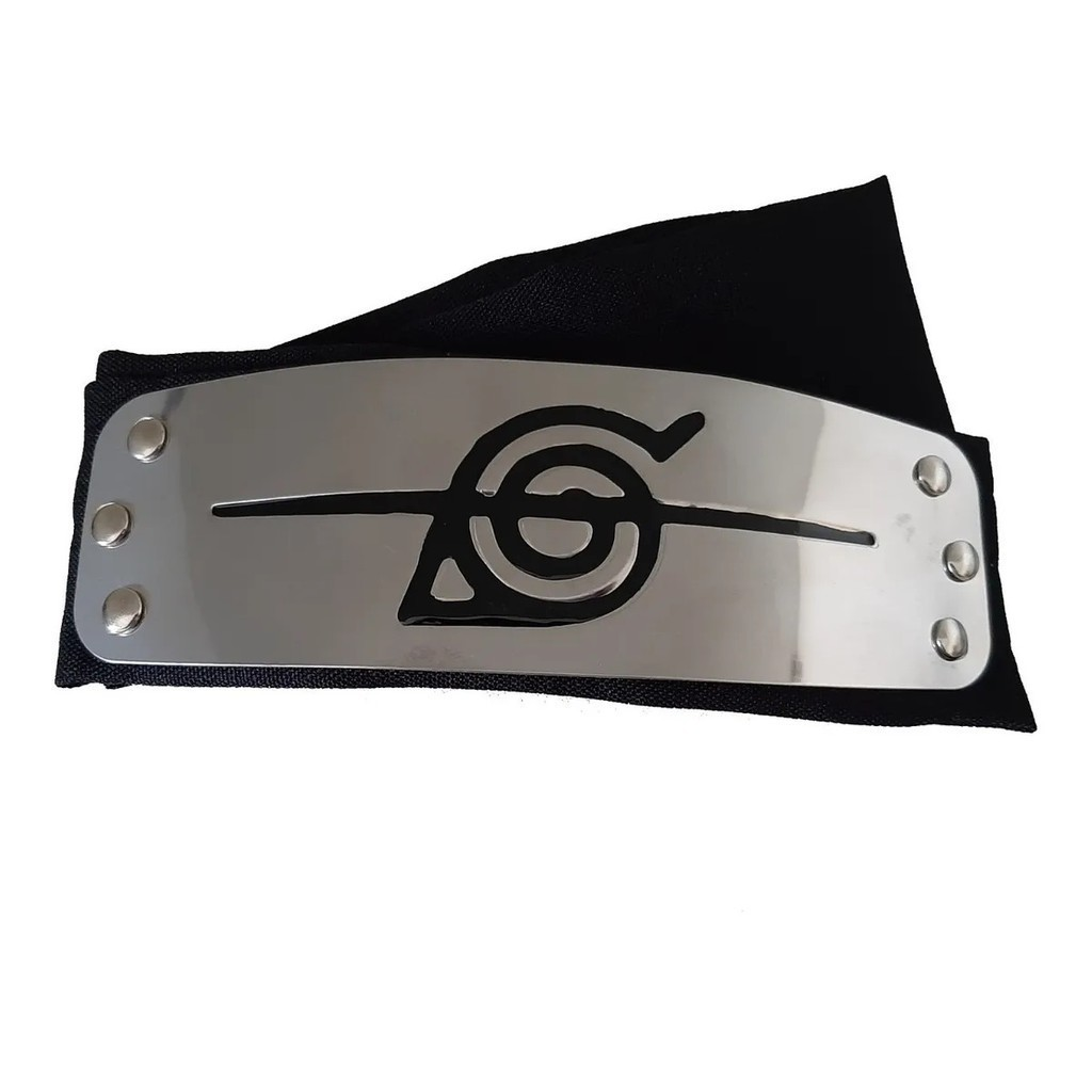 Bandana Itachi da Vila da Folha (Cortada) - Naruto