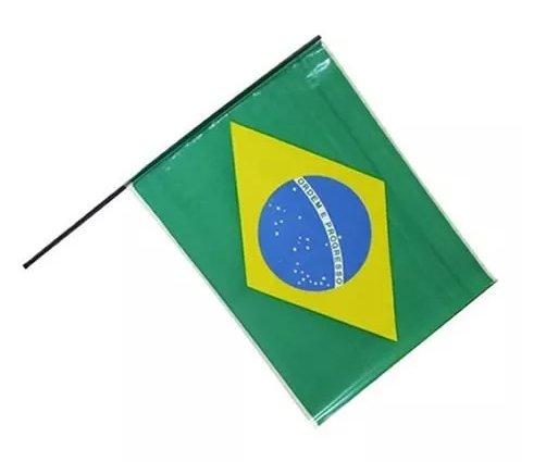 Bandeira Do Brasil de Plástico