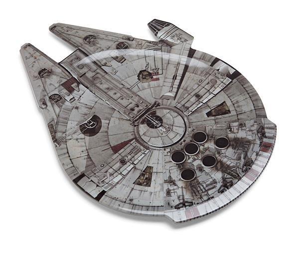 Bandeja Star Wars: Millennium Falcon - ThinkGeek