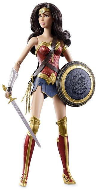 Barbie Collector Black Label Batman Vs Superman: Wonder Woman (Mulher Maravilha) - Mattel