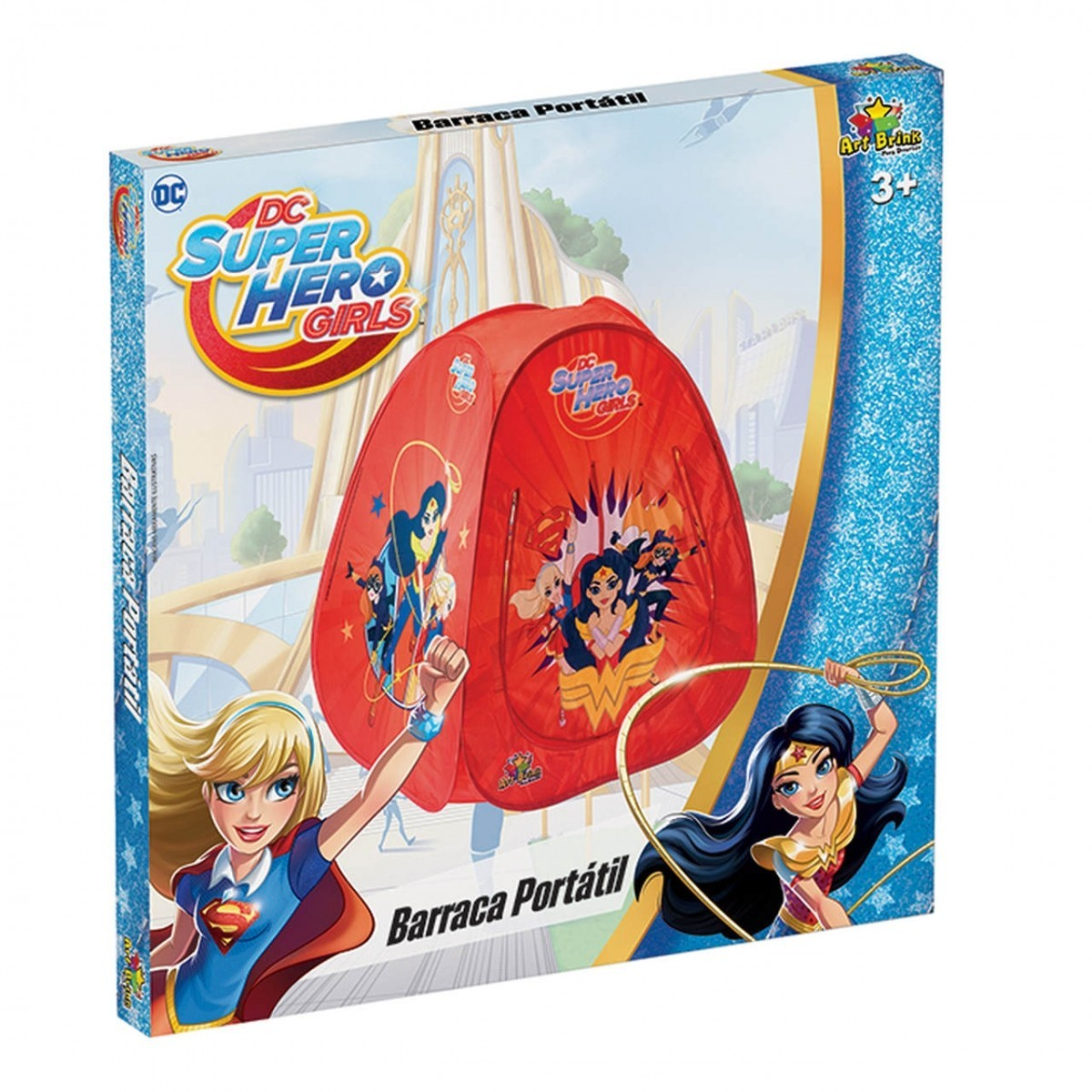 Barraca Portátil Dc Super Hero Girls