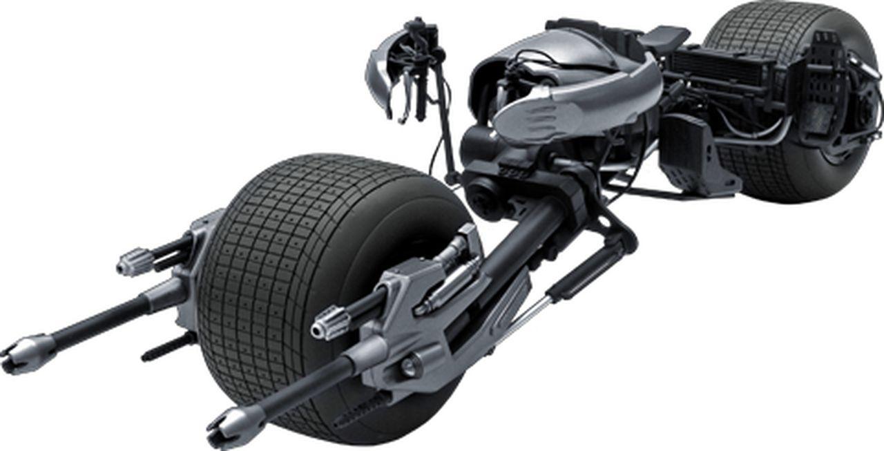 Réplica Moto Bat-Pod: Batman O Cavaleiro das Trevas Ressurge The Dark Knight Rises MMS117 Escala 1/6 - Hot Toys