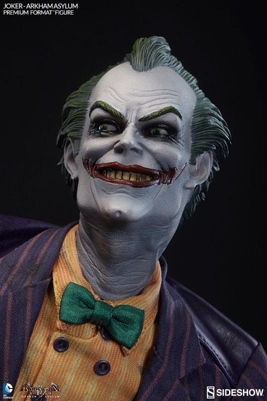 Estátua Coringa Joker Batman Arkham Asylum Premium Format Escala 1/4 - Sideshow Collectibles
