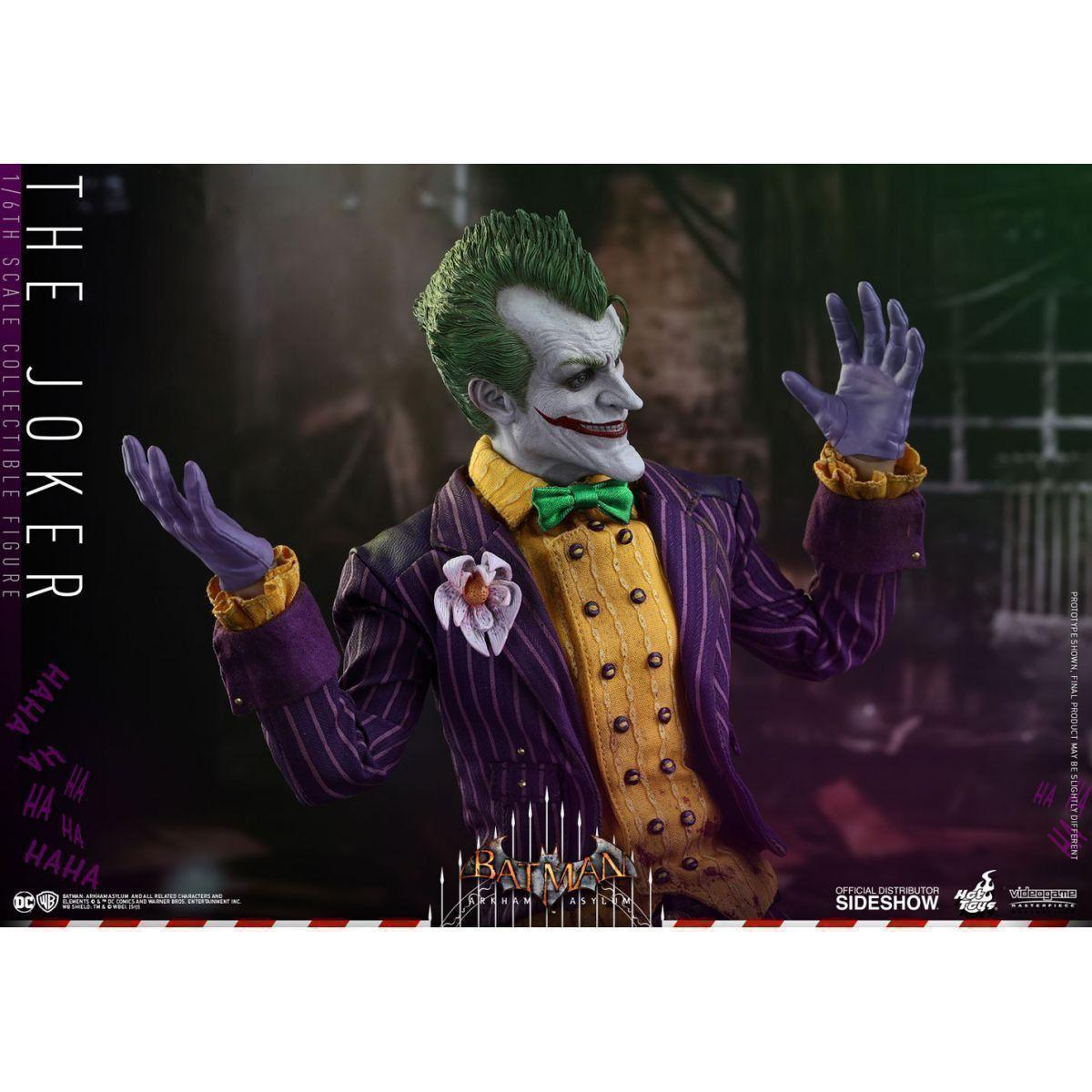 PRÉ VENDA: Boneco Coringa (The Joker): Batman Arkham Asylum Escala 1/6 - Hot Toys