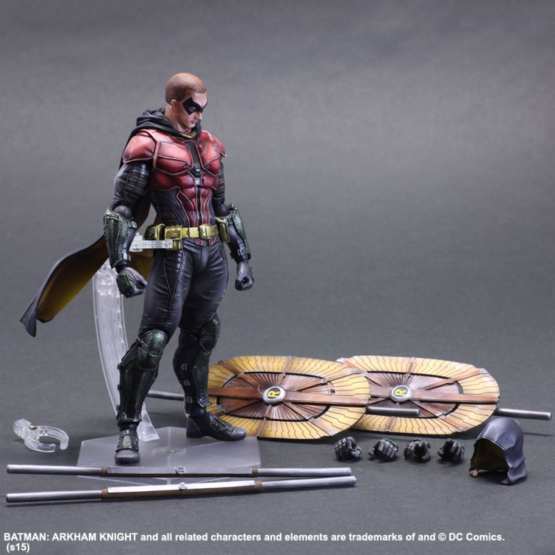 Boneco Robin: Batman Arkham Knight - Play Arts Kai (Square Enix) - CD