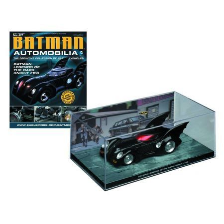 Batman Automobilia #27 Legends Dark Knight #156 - Eaglemoss